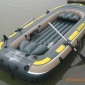 intex68351海鹰四人4人充气船组/皮划艇/橡皮船/钓鱼船 配桨泵